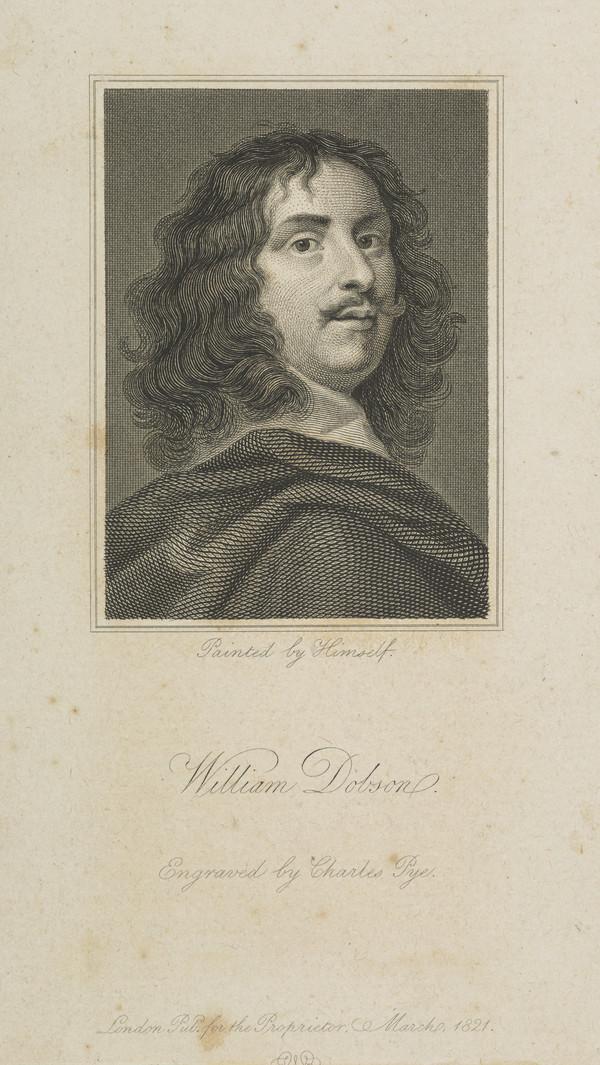 William Dobson, 1610 - 1646. Portrait painter (Published 1821)