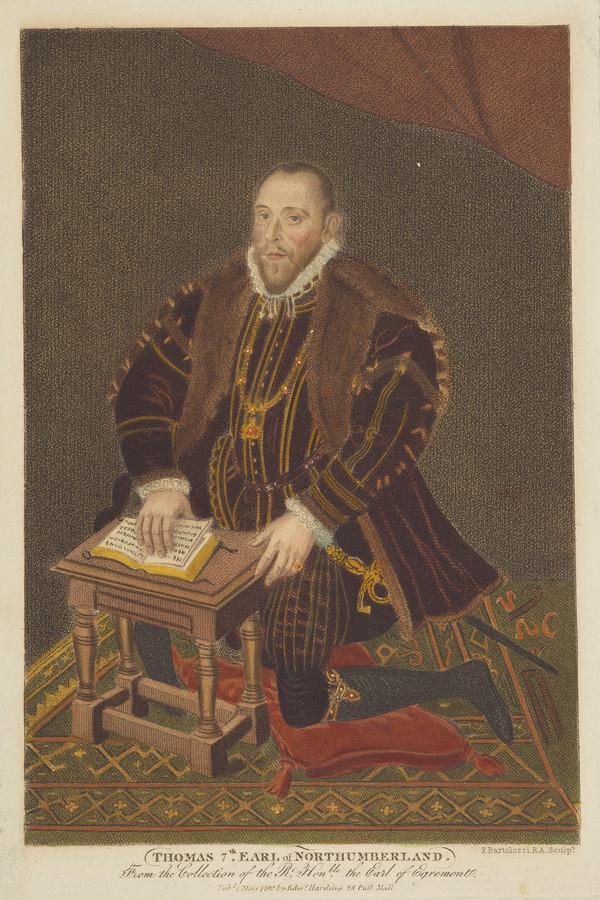 Thomas Percy, 7th Earl of Northumberland, 1528 - 1572