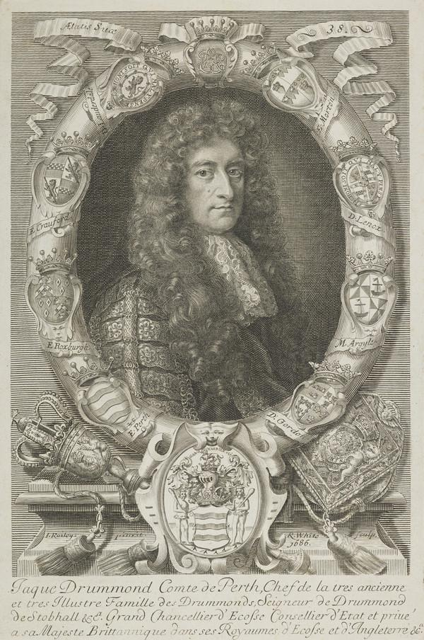 Portrait of James Drummond, fourth Earl of Perth (1686)