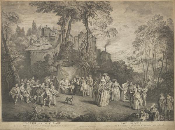 L'Accordée de village - Pagi Sponsa (1735)