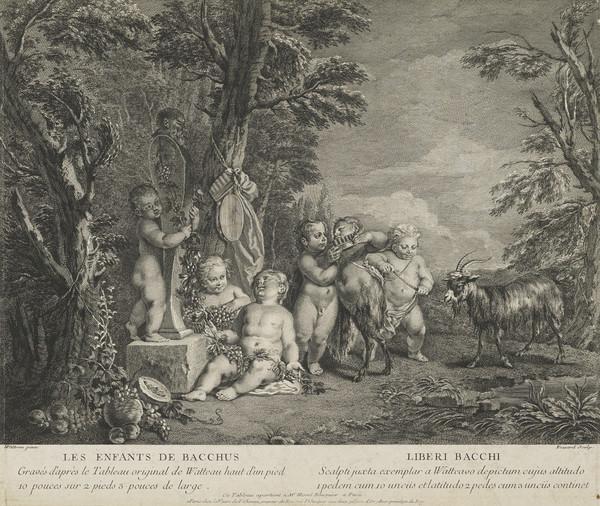 Les Enfants de Bacchus - Liberi bacchus (1734)