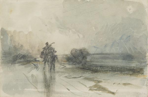Figures on Horseback in a Landscape