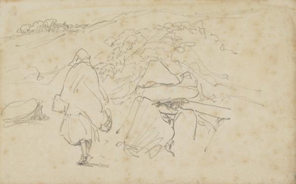 A Figure in a Landscape