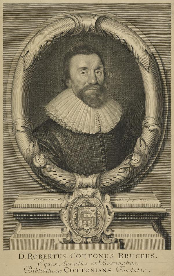 Sir Robert Bruce Cotton, 1571 - 1631. Antiquary (Published 1696)