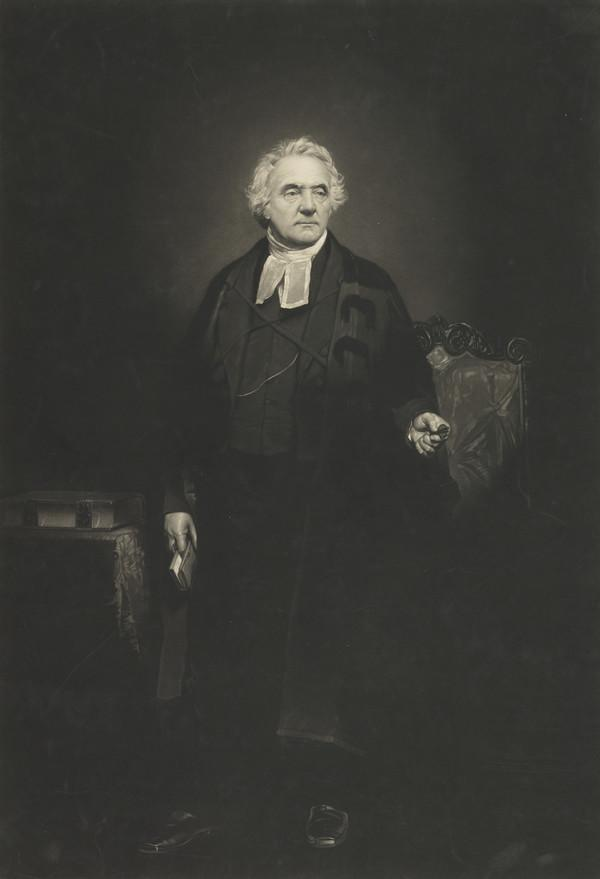 Rev. Thomas Chalmers, 1780 - 1847. Preacher and social reformer (Published 1849)