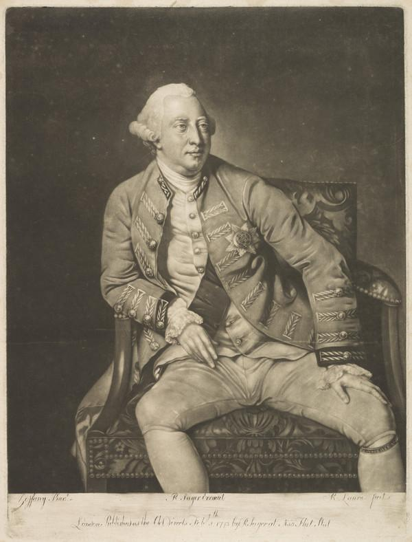 George III, 1738 - 1820. Reigned 1760 - 1820 (Published 1773)