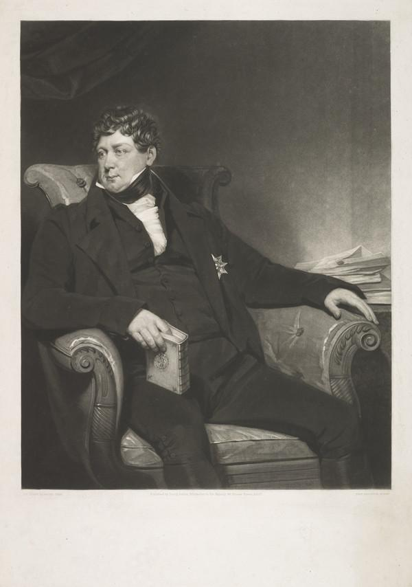 George IV, 1762 - 1830. Reigned as Regent 1811 - 1820, as King 1820 - 1830