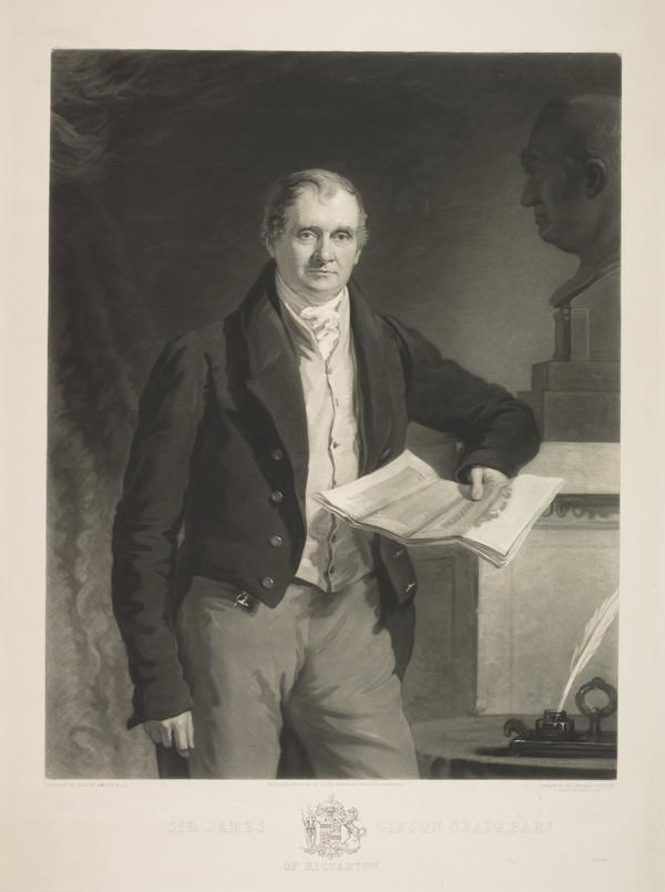 Sir James Gibson Craig, 1765 - 1850. Politician (1846)