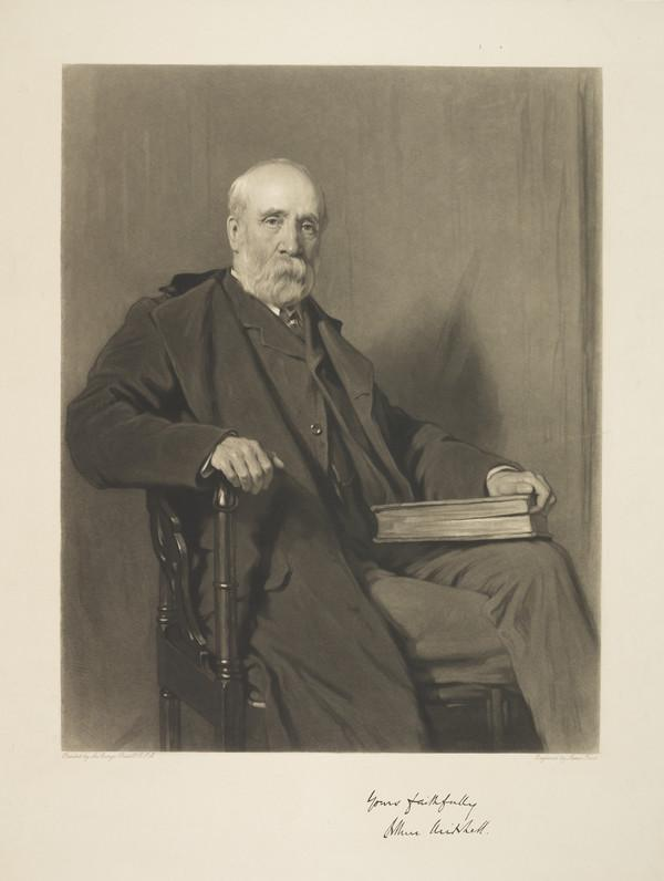 Sir Arthur Mitchell, 1826 - 1909. Writer on insanity and antiquary