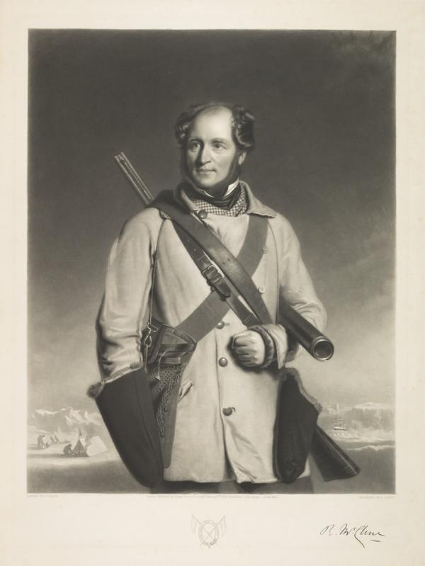 Sir Robert John le Mesurier McLure, 1807 - 1873. Vice-Admiral and arctic explorer (Published 1856)