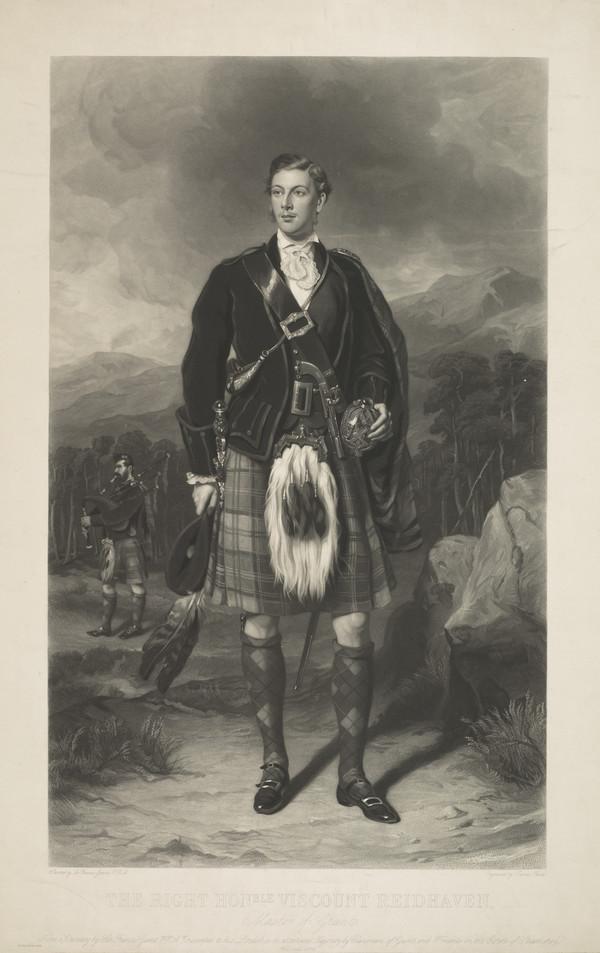 Sir Ian Charles Ogilvy, 8th Earl of Seafield, 1851 - 1884 (1872)