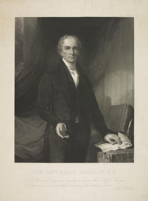 Rev. Ralph Wardlaw, 1779 - 1853. Congregationalist and Professor of Systematic Theology (Published 1838)