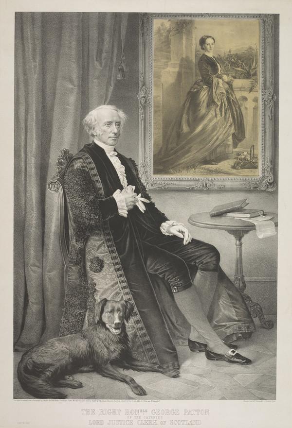 The Right Honourable George Patton. 1803 - 1869. Scottish judge