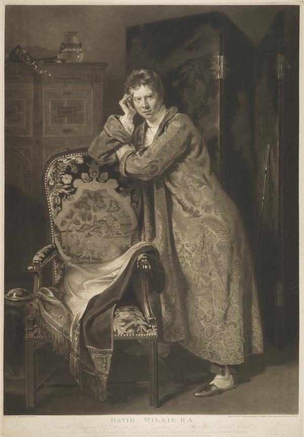 Sir David Wilkie, 1785 - 1841. Artist (Published 1818)