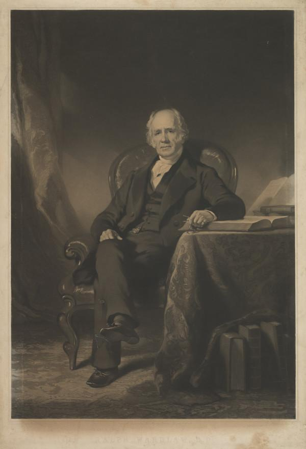 Rev. Ralph Wardlaw, 1779 - 1853. Congregationalist and Professor of Systematic Theology (Published 1852)