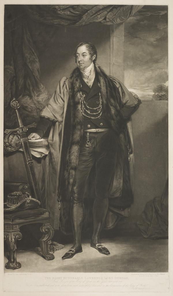 Lawrence Dundas, 1st Earl of Zetland, 1766 - 1839