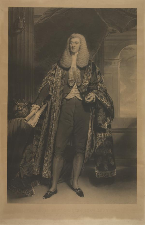 The Right Honourable Charles Shaw-Lefevre, Viscount Eversley, 1794 - 1888. Speaker of the House of Commons