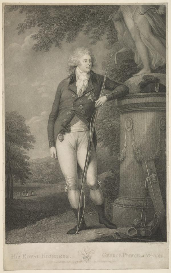 George IV, 1762 - 1830. Reigned as Regent 1811 - 1820, as King 1820 - 1830 (1795)