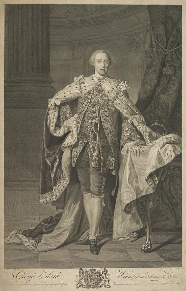 George III, 1738 - 1820. Reigned 1760 - 1820 (Published 1762)