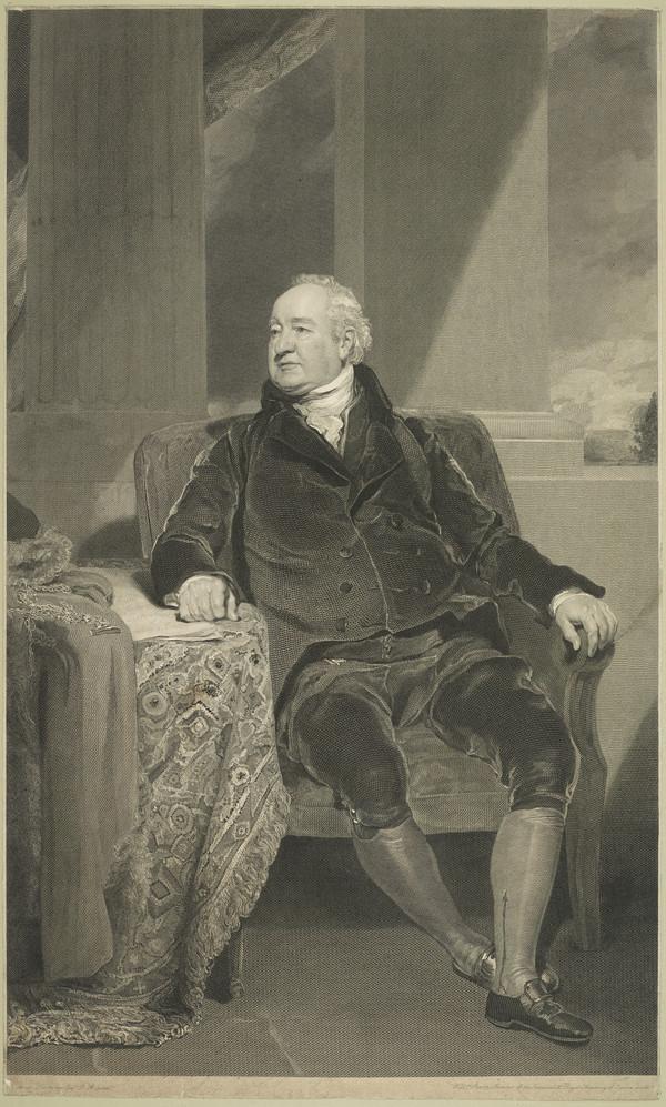 Sir William Curtis, 1752 - 1829. Alderman of London; Lord Mayor 1796
