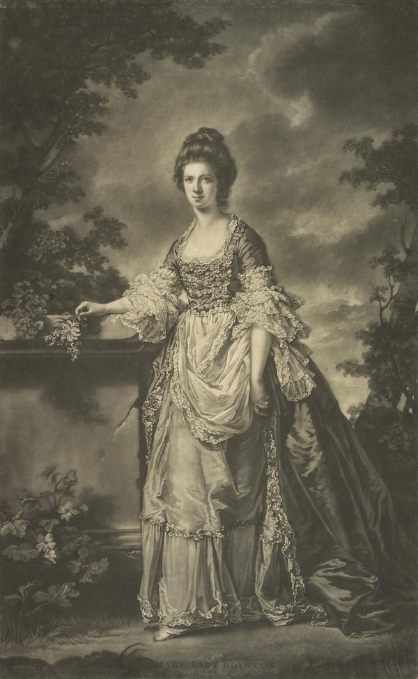 Mary Heblethwayte, Lady Boynton. 2nd wife of Sir G. Boynton; afterwards wife of John Parkhurst, of Catesby Abbey) (Published 1770)