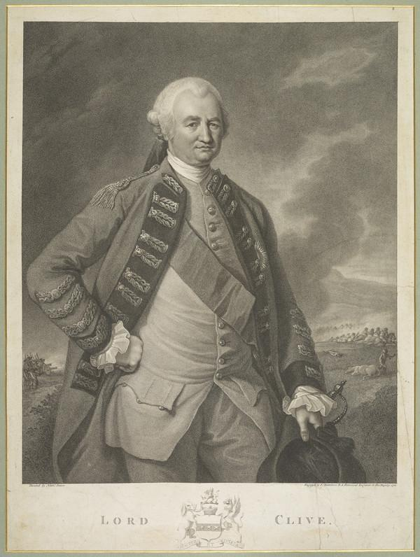 Robert Clive, 1st Baron Clive (of Plassey), 1725 - 1774. Governor of Bengal