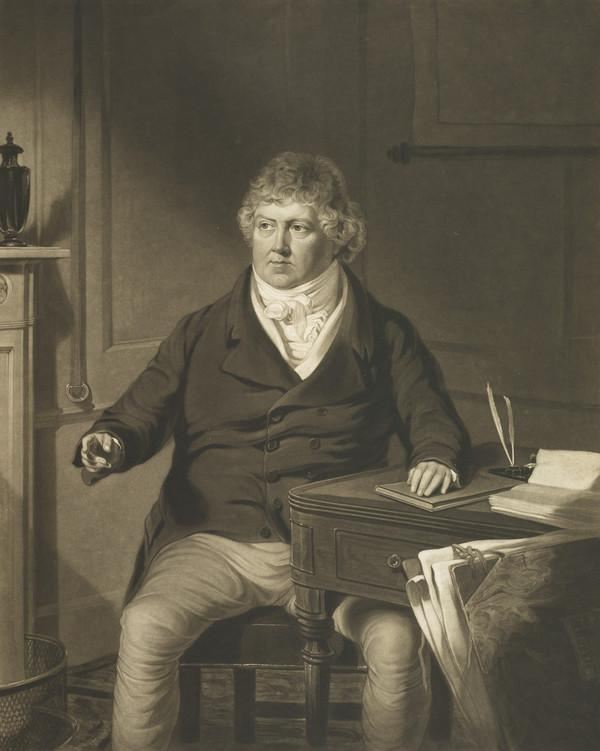 George Robinson. Secretary to the London Dock Co., 1818