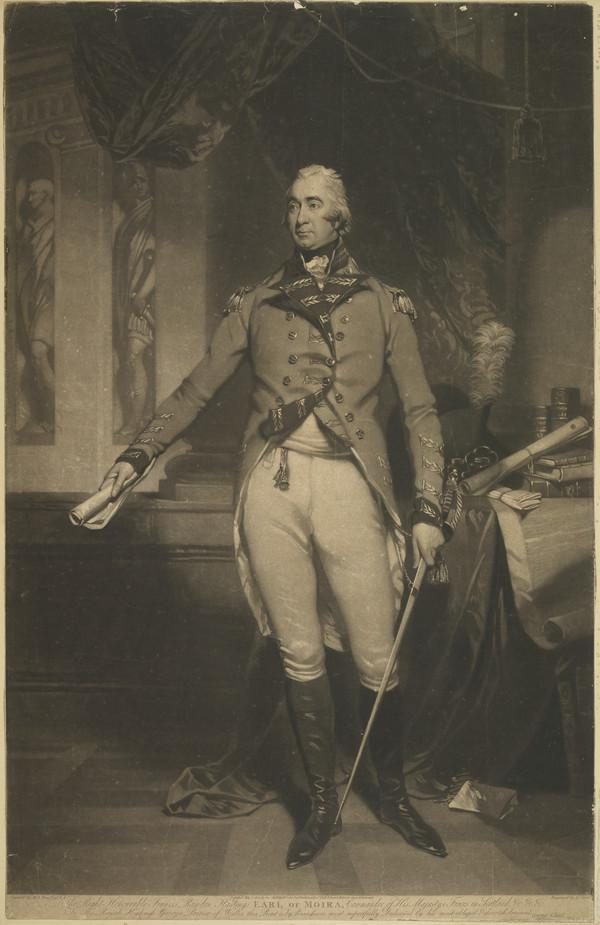 Francis Rawdon-Hastings, 2nd Earl of Moira and 1st Marquess of Hastings, 1754 - 1826. Soldier and Governor General of India