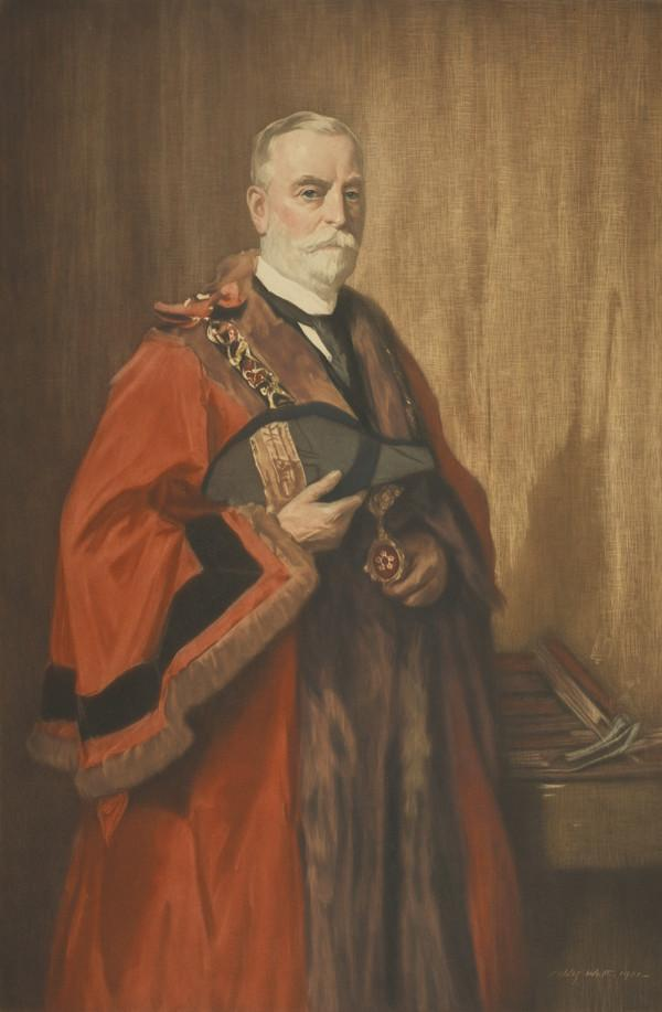 Lieutenant-Colonel Sir Jonathan North, 1855 - 1939. Alderman and Mayor of Leicester