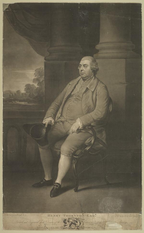 John Henry Thornton, 1720 - 1790. Merchant and philanthropist (1782)
