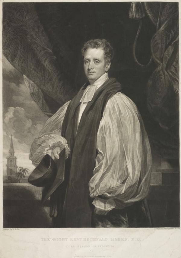 Reginald Heber, 1783 - 1826. Bishop of Calcutta (Published 1824)