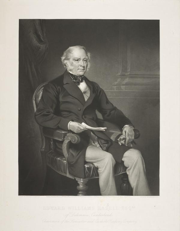 Edward William Hassell, 1796 - 1872. Of Dulemain, Cumberland (Published 1866)