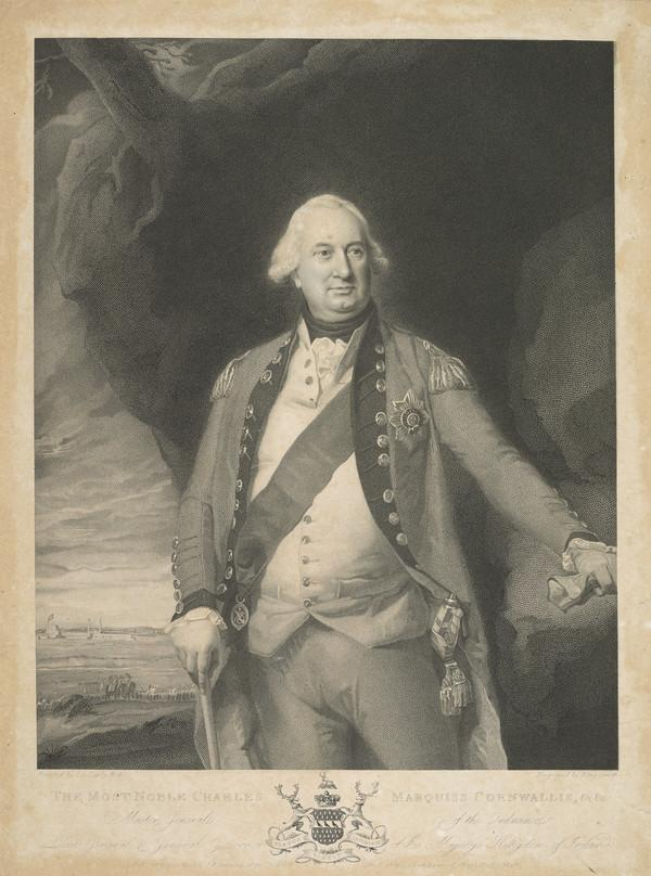 Charles Cornwallis, 2nd Earl and 1st Marquis Cornwallis, 1738 - 1805. Governor-general of India