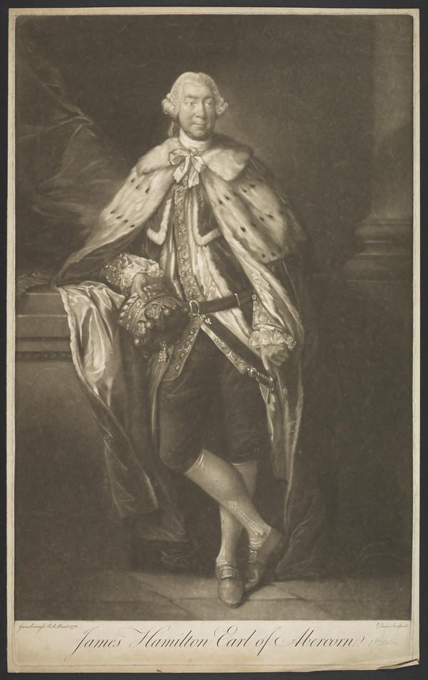 James Hamilton, 8th Earl of Abercorn, Lord Mountcastle, 1712 - 1789