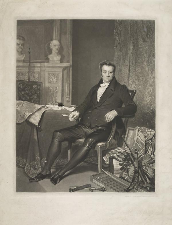 Thomas Clarkson, 1760 - 1846. Anti-slavery agitator (1828)
