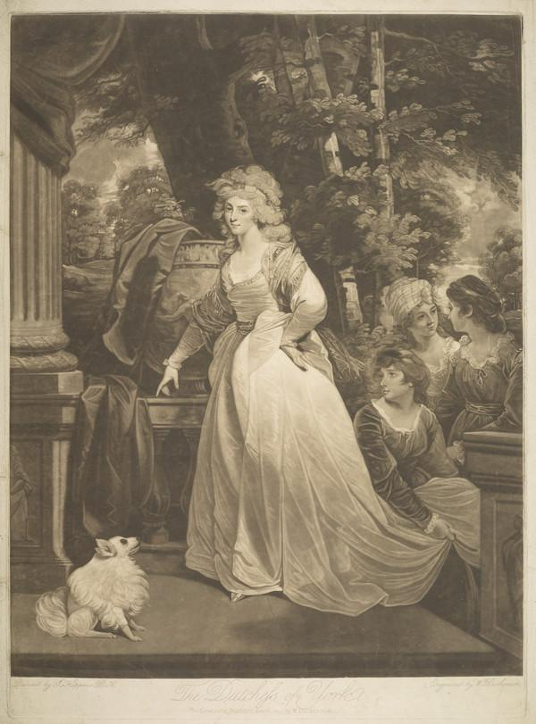 Frederica Charlotte Ulrica of Prussia, Duchess of York, 1767 - 1820. Wife of Prince Frederick Augustus, Duke of York and Albany (1795)