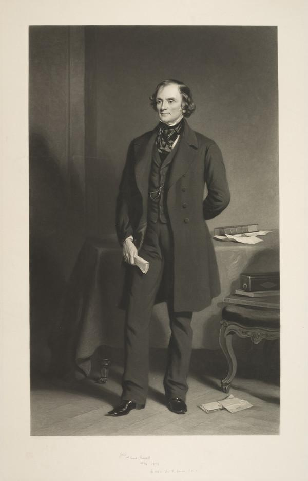 John Russell, 1st Earl Russell, 1792 - 1878. Prime minister