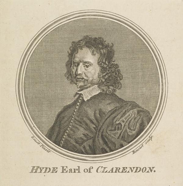 Edward Hyde, 1st Earl of Clarendon, 1609 - 1674. Lord Chancellor and historian (1757)