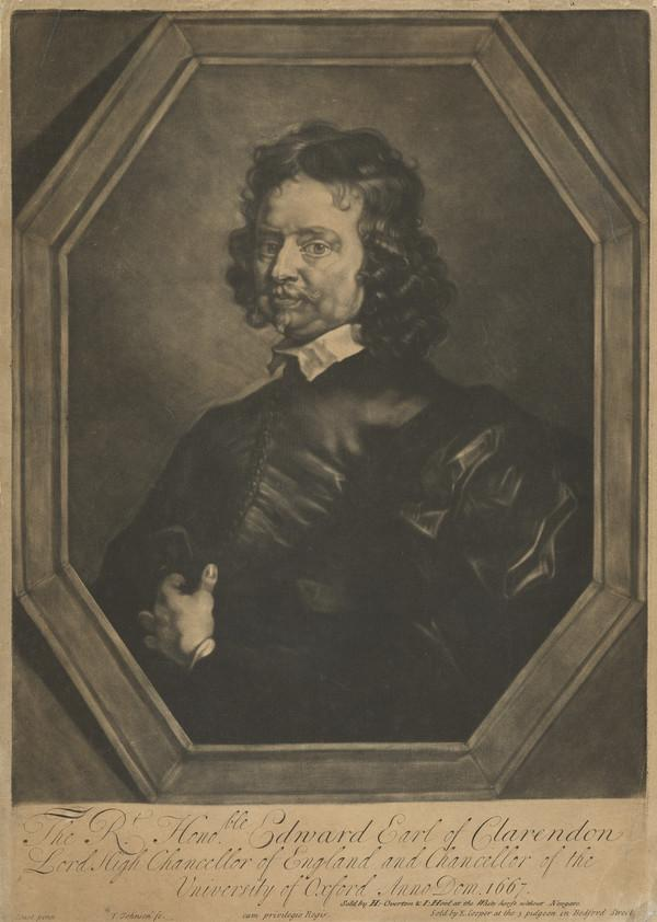 Edward Hyde, 1st Earl of Clarendon, 1609 - 1674. Lord Chancellor and historian