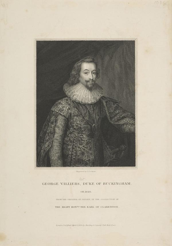 George Villiers, 1st Duke of Buckingham, 1592 - 1628 (1833)