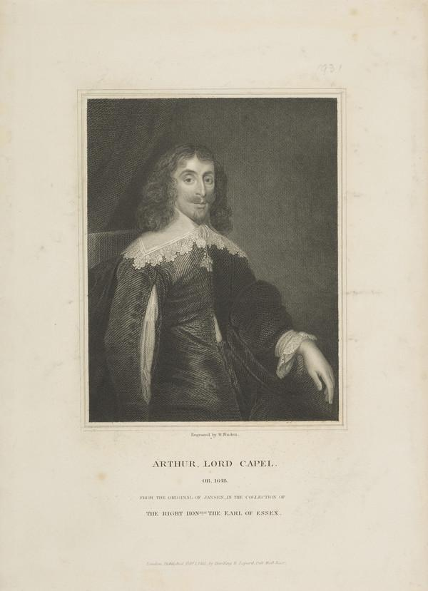 Arthur Capell, 1st Lord Capell, d. 1649 (Published 1831)