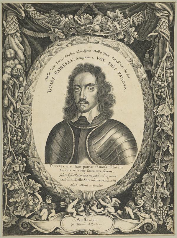 Thomas Fairfax, 1612 - 1671. General in the parliamentary army