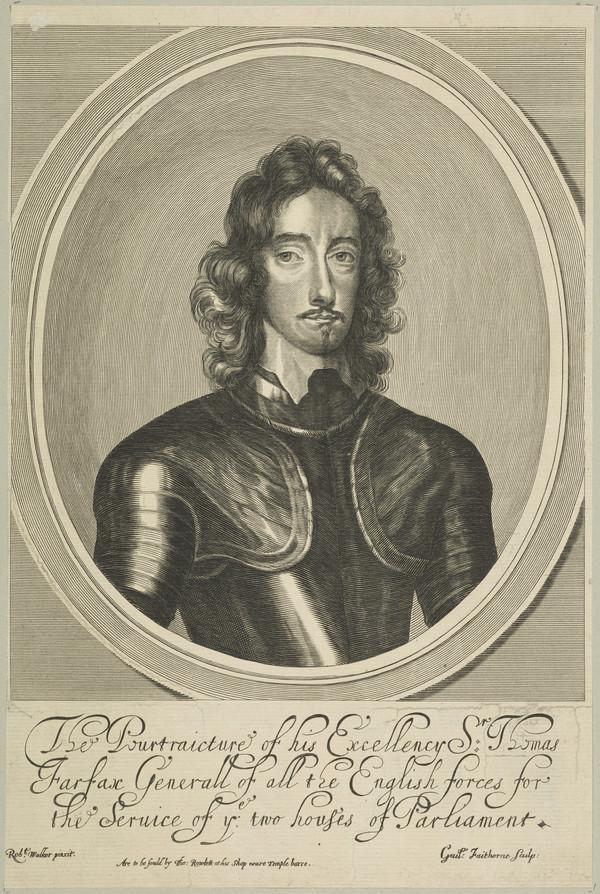 Thomas Fairfax, 1612 - 1671. General in the parliamentary army