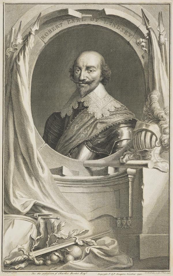 Robert Bertie, 1st Earl of Lindsey, 1582 - 1642. Royalist (Published 1742)