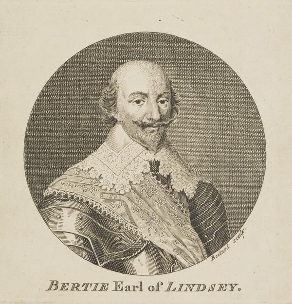 Robert Bertie, 1st Earl of Lindsey, 1582 - 1642. Royalist (Published 1757)