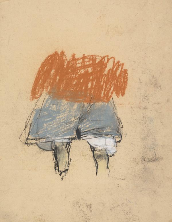 Study of a Child in Jumper and Shorts