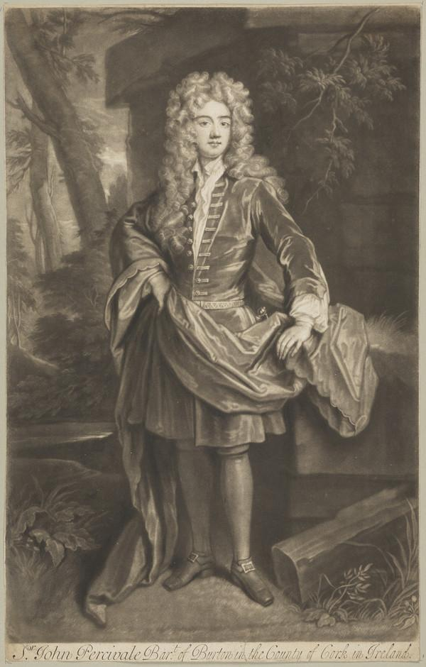 The Right Honourable Sir John Perceval, 1629 - 1665. Member of Parliament for County Cork (Published 1742)