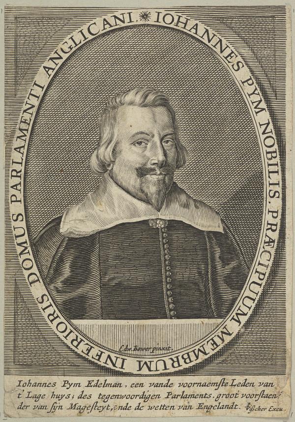 John Pym, 1584 - 1643. Member of Parliament for Tavistock