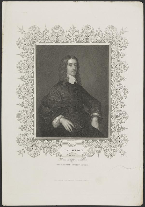 John Selden, 1584 - 1654. Jurist and antiquary