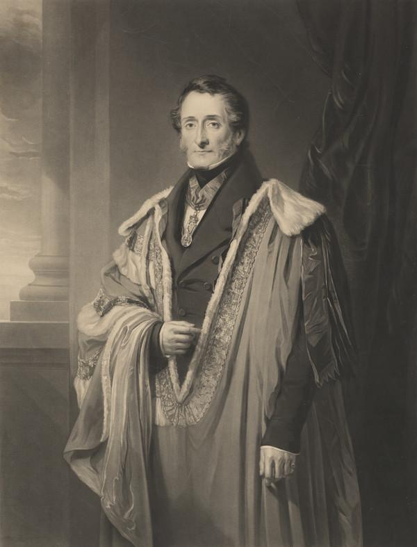 Thomas Hamilton, 9th Earl of Haddington, 1780 - 1858. Lord Lieutenant of Ireland (Published 1839)